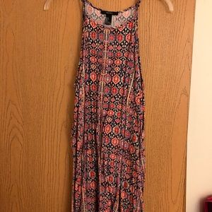 Colorful Patterned Forever 21 Dress